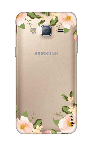 Flower In Corner Samsung J3 2016 Cases & Covers Online