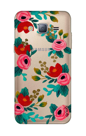 Red Floral Samsung J3 2016 Cases & Covers Online