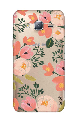Painted Flora Samsung J3 2016 Cases & Covers Online