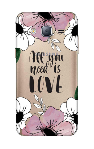 All You Need is Love Samsung J3 2016 Cases & Covers Online