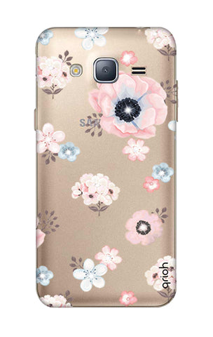 Beautiful White Floral Samsung J3 2016 Cases & Covers Online