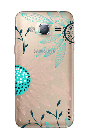 Pink And Blue Petals Samsung J3 2016 Cases & Covers Online
