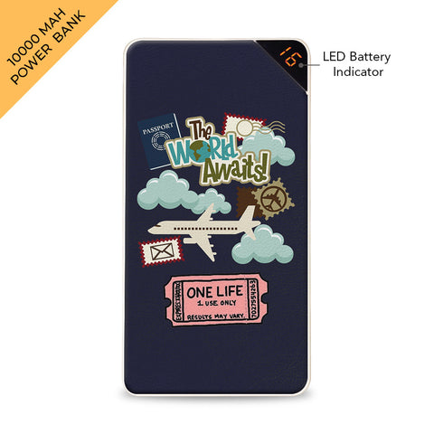 World Awaits 10000 mAh Universal Power Bank Online
