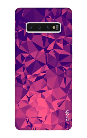 Purple Diamond Samsung Galaxy S10 Cases & Covers Online
