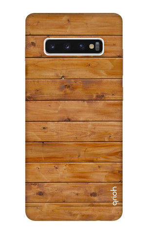 Natural Wood Samsung Galaxy S10 Cases & Covers Online