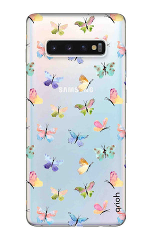 Painted Butterflies Samsung Galaxy S10 Cases & Covers Online