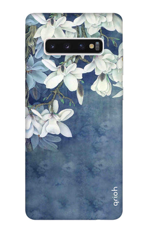 White Flower Samsung Galaxy S10 Cases & Covers Online