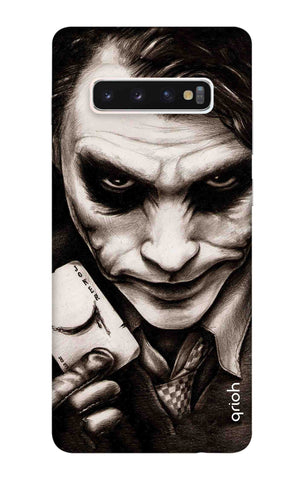 Why So Serious Samsung Galaxy S10 Plus Cases & Covers Online