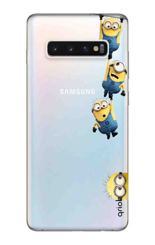 Falling Minions Samsung Galaxy S10 Plus Cases & Covers Online
