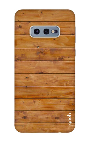 Natural Wood Samsung Galaxy S10e Cases & Covers Online