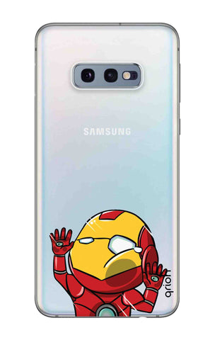 Iron Man Wall Bump Samsung Galaxy S10e Cases & Covers Online