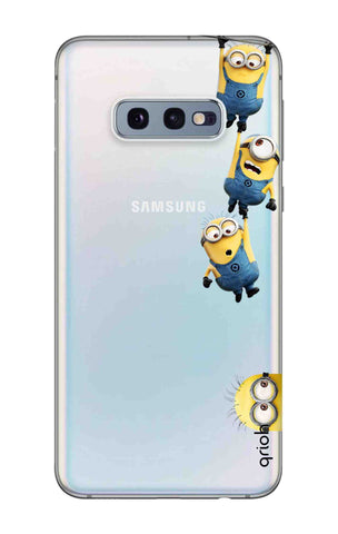 Falling Minions Samsung Galaxy S10e Cases & Covers Online