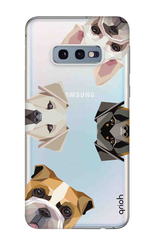 Geometric Dogs Samsung Galaxy S10e Cases & Covers Online