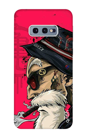 Hipster Oldman Samsung Galaxy S10e Cases & Covers Online
