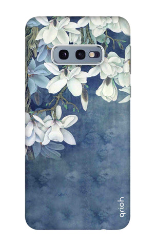 White Flower Samsung Galaxy S10e Cases & Covers Online