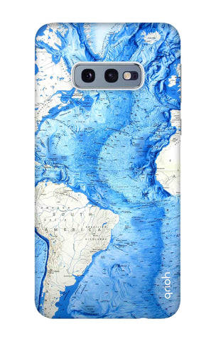 World Map Samsung Galaxy S10e Cases & Covers Online
