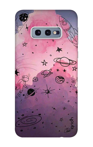 Space Doodles Art Samsung Galaxy S10e Cases & Covers Online