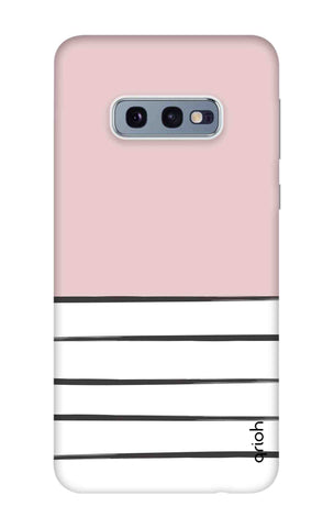 Horizontal Stripe Samsung Galaxy S10e Cases & Covers Online