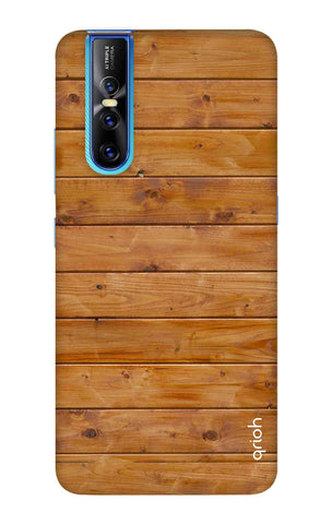 Natural Wood Vivo V15 Pro Cases & Covers Online