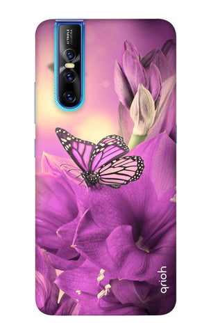 Purple Butterfly Vivo V15 Pro Cases & Covers Online