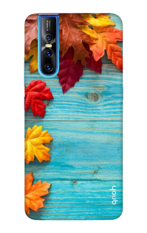 Fall Into Autumn Vivo V15 Pro Cases & Covers Online