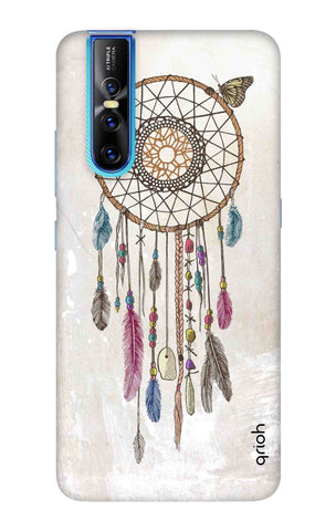Butterfly Dream Catcher Vivo V15 Pro Cases & Covers Online
