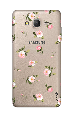 Pink Rose All Over Samsung ON5 Cases & Covers Online