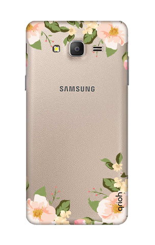 Flower In Corner Samsung ON5 Cases & Covers Online