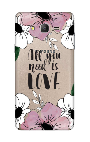 All You Need is Love Samsung ON5 Cases & Covers Online