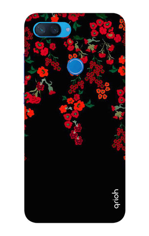 Floral Deco Xiaomi Mi 8 Lite Cases & Covers Online