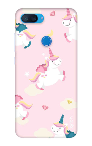 Flying Unicorn Xiaomi Mi 8 Lite Cases & Covers Online