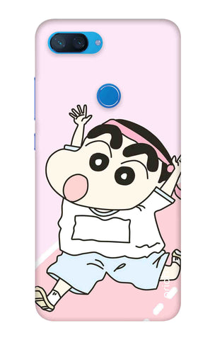 Running Cartoon Xiaomi Mi 8 Lite Cases & Covers Online