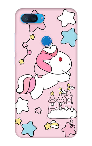 Unicorn Doodle Xiaomi Mi 8 Lite Cases & Covers Online