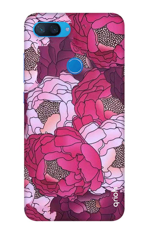 Vector Floral Xiaomi Mi 8 Lite Cases & Covers Online