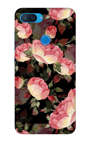 Watercolor Roses Xiaomi Mi 8 Lite Cases & Covers Online