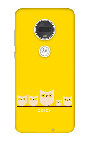 Owl Family Motorola Moto G7 Cases & Covers Online