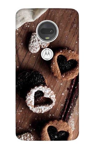 Heart Cookies Motorola Moto G7 Cases & Covers Online