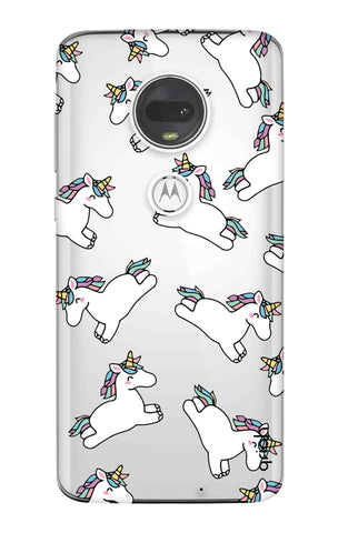 Jumping Unicorns Motorola Moto G7 Cases & Covers Online