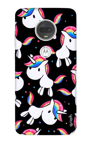 Colourful Unicorn Motorola Moto G7 Cases & Covers Online