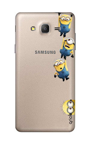 Falling Minions Samsung ON7 Cases & Covers Online