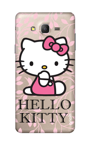 Hello Kitty Floral Samsung ON7 Cases & Covers Online