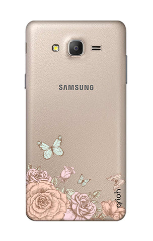 Flower And Butterfly Samsung ON7 Cases & Covers Online