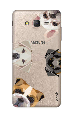 Geometric Dogs Samsung ON7 Cases & Covers Online