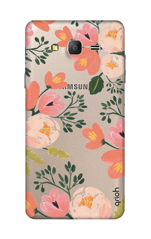 Painted Flora Samsung ON7 Cases & Covers Online