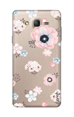 Beautiful White Floral Samsung ON7 Cases & Covers Online