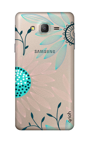 Pink And Blue Petals Samsung ON7 Cases & Covers Online