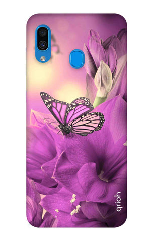 Purple Butterfly Samsung Galaxy A30 Cases & Covers Online