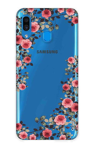 Floral French Samsung Galaxy A30 Cases & Covers Online