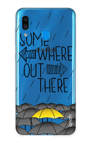 Somewhere Out There Samsung Galaxy A30 Cases & Covers Online