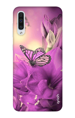 Purple Butterfly Samsung Galaxy A50 Cases & Covers Online